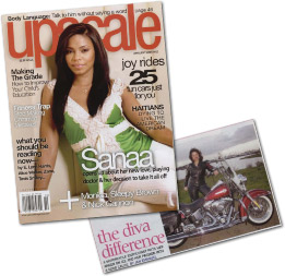 """Divas For A Cure featured in UPSCALE Magazine -""""The Diva Difference"""""""